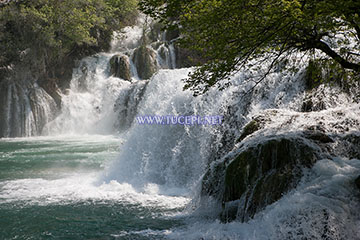 Krka river waterfalls