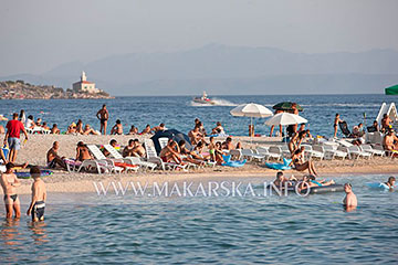 beach in Makarska